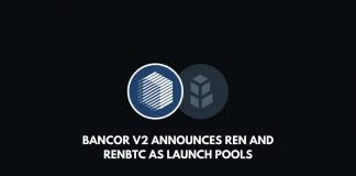 Bancor V2 announces REN and renBTC as launch pools