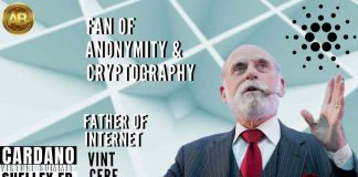 Father of Internet Vint Cerf is a Big Fan of Anonymity