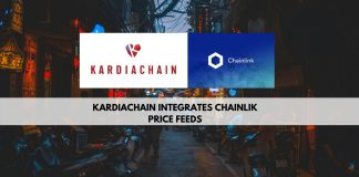 KardiaChain Integrates Chainlink price feeds