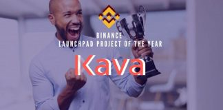 Kava Wins Binance Launchpad Project of the Year Title