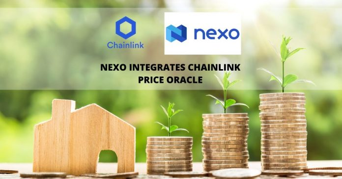 Nexo integrates Chainlink price oracle