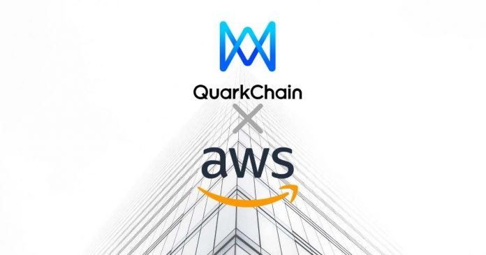 QuarkChain and Amazon Web Services Collaborate