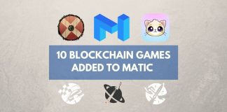 10 blockchain games added to matic network