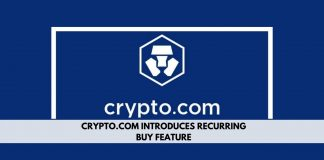 Crypto.com introduces Recurring Buy feature