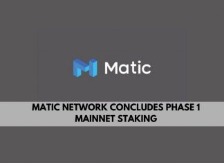 Matic Network concludes phase 1 mainnet staking