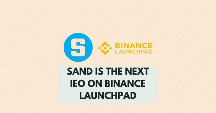 Binance Launchpad is supporting $SAND