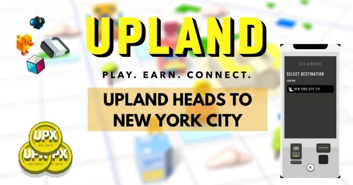 Uplands expands metaverse to new york city