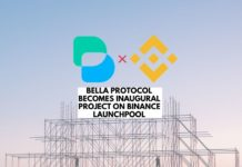 Bella Protocol Becomes Inaugural Project on Binance Launchpool