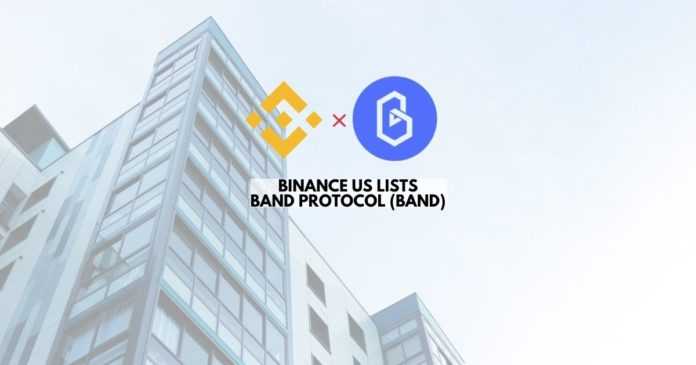 Binance US Lists Band Protocol (BAND)