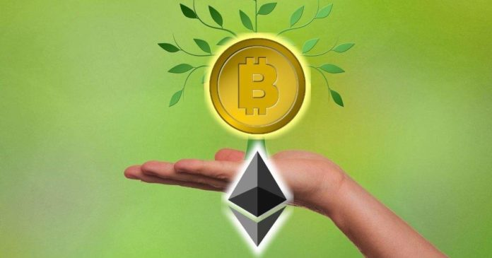 Bitcoin on Ethereum Volume Edges Closer to $1 Billion (1)