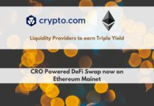 CRO-Powered DeFi Swap Now on Ethereum Mainnet