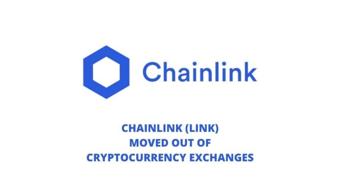 Chainlink (LINK) Moved Out of Cryptocurrency Exchanges (1)