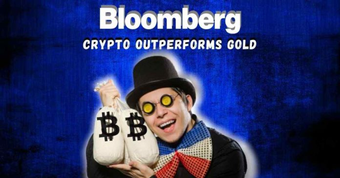 Crypto Outperforms Gold as Top 2020 Asset - Bloomberg