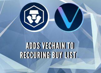 Crypto.com Adds VeChain (VET) to Recurring Buy