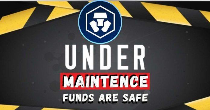 Funds Are Safe! Crypto.com Under Maintenance