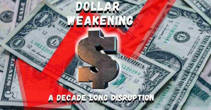 The U.S. Dollar Weakening Can Go on for a Decade
