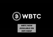 WBTC Now Available on DeFi Swap