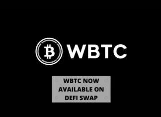 WBTC Now Available on DeFi Swap