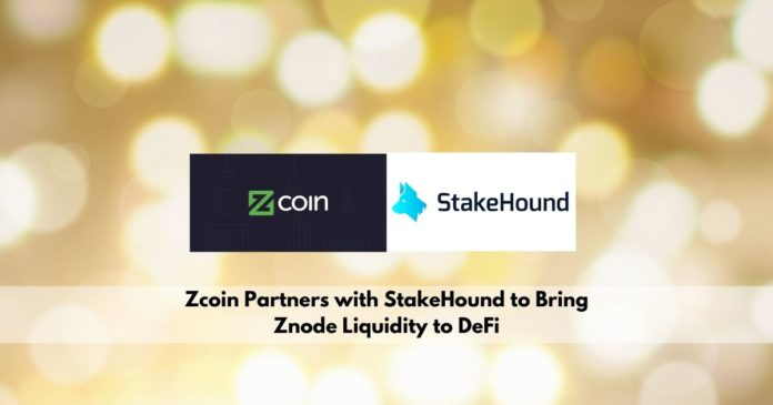 Zcoin Partners with StakeHound to Bring Znode Liquidity to DeFi