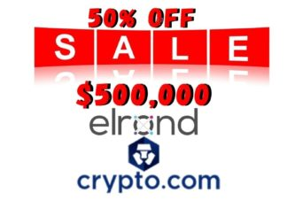 Crypto.com to List Elrond (EGLD) at 50% off