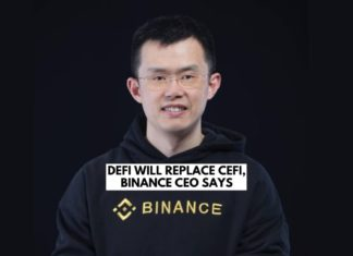 Binance CEO Says DeFi Will Replace CeFi