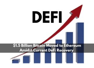 $1.5 Billion BTC Moved to ETH Amidst Decentralized Finance Recovery