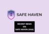 Recent News on Safe Haven (SHA)