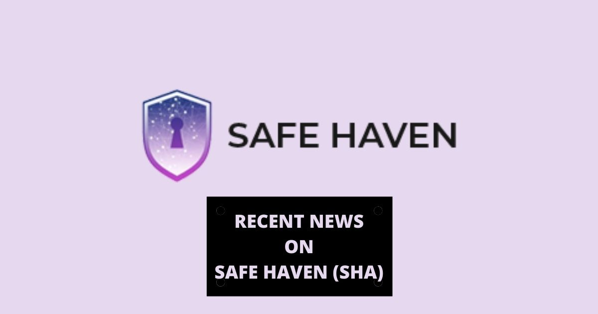Recent News on Safe Haven (SHA) - Product Release & Updates - Altcoin Buzz