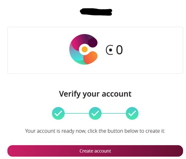 Account verification