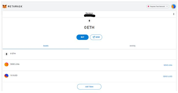 ℓUSD tokens transfer complete.