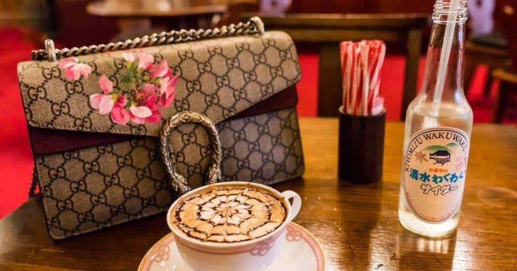 Gucci handbag.
