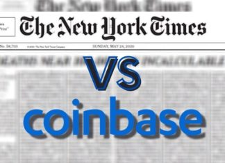NEW YORK TIMES IS BEARISH ON COINBASE