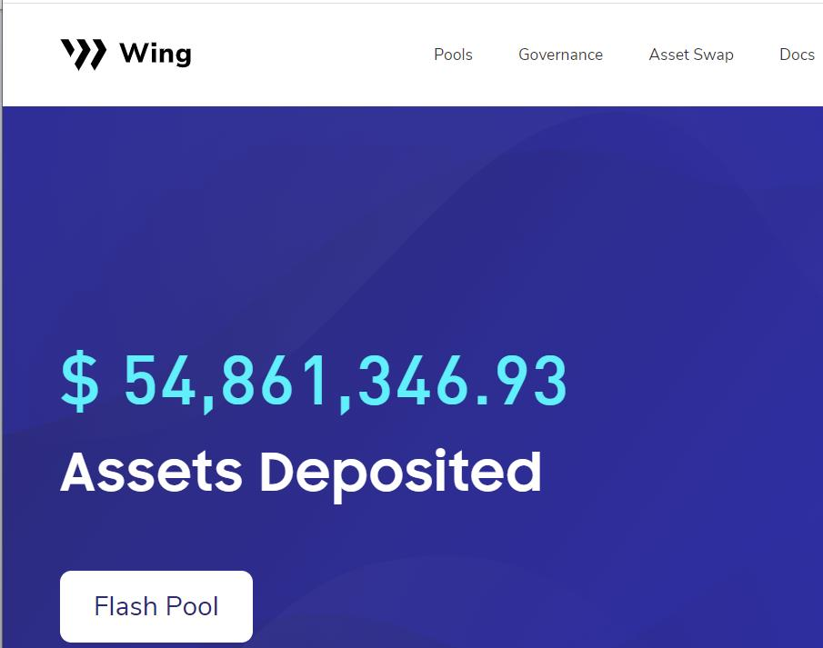 Wing Flash Pool