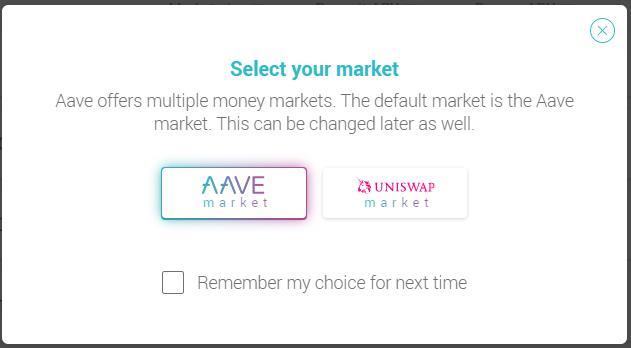 AAVE Platform