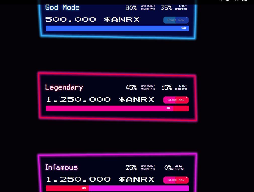 AnRKey X™ Staking Pool