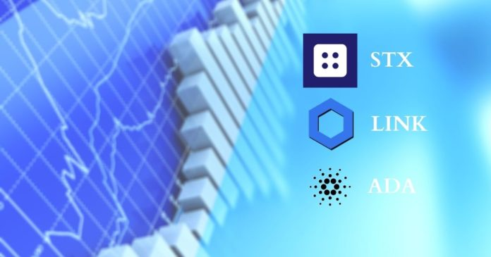 Crypto Market Update: Blockstack (STX), Chainlink (LINK), and Cardano (ADA)