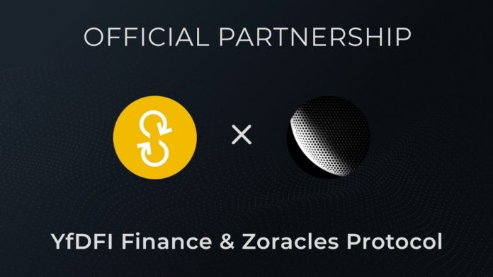 YfDFI Partners with Zoracles for Data Anonymity and Privacy