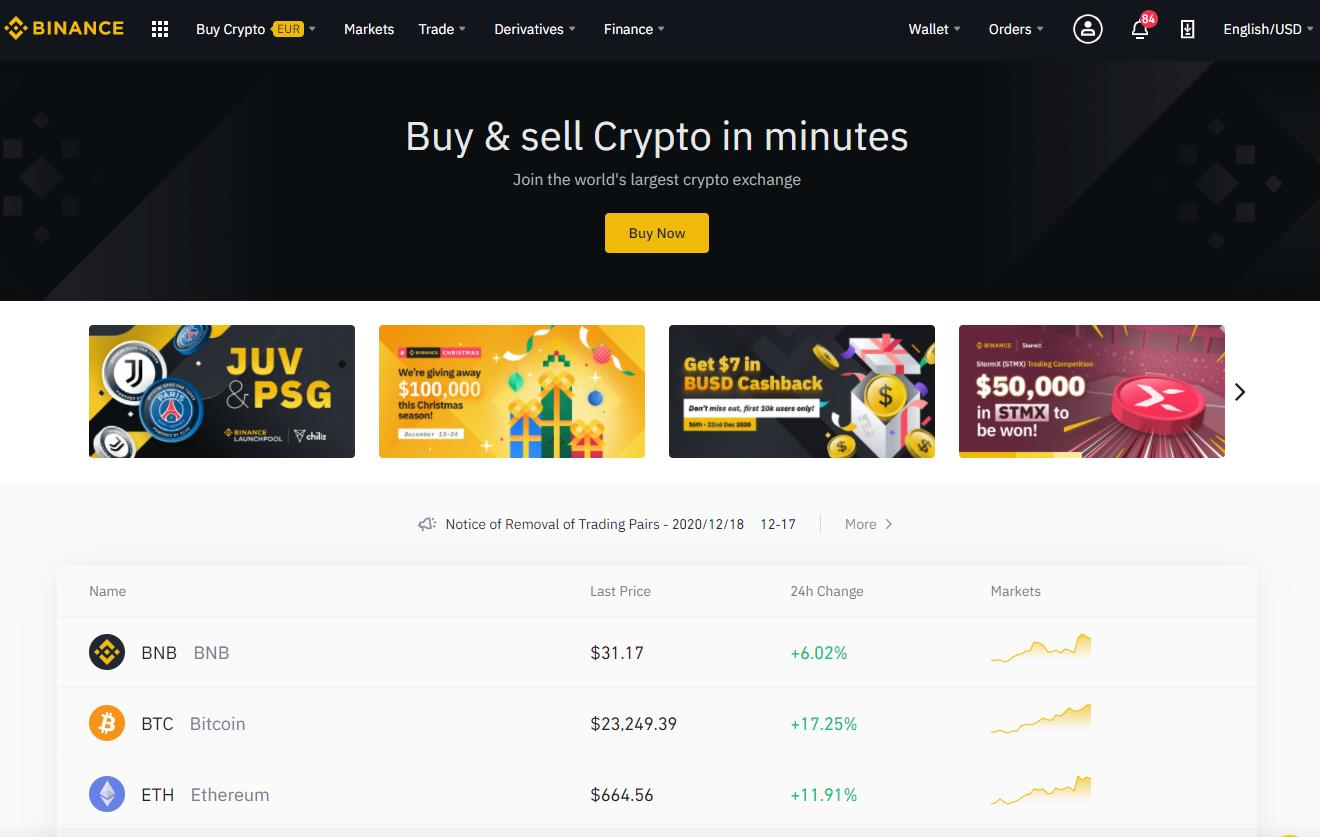 Binance Exchange