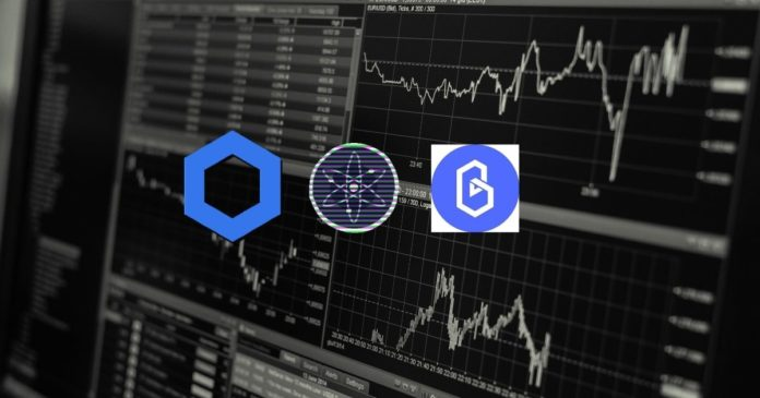 Altcoin marknadsuppdatering: ATOM, LINK och BAND
