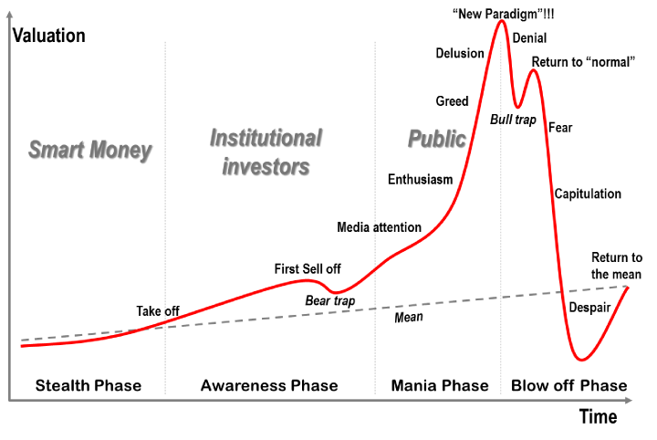 bitcoin bubble 2021