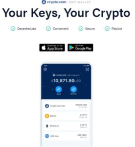 Crypto.com plånbok