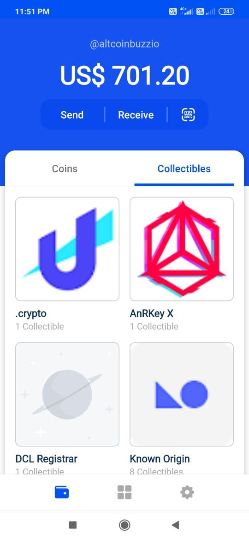 CoinBase plånbok