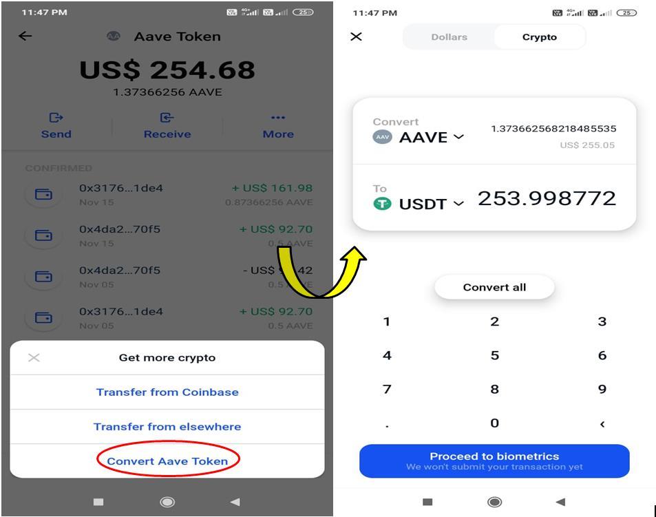 CoinBase-plånbok