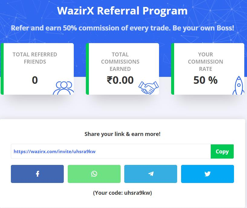 WazirX Exchange