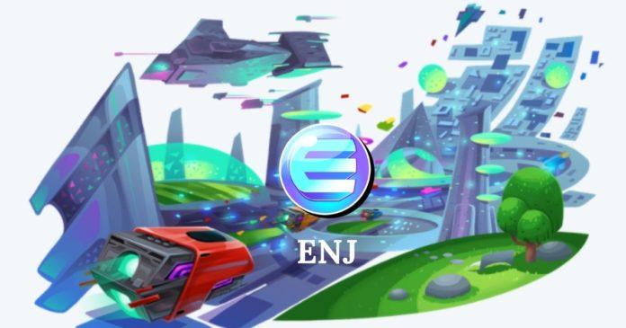 ENJ Pris: Väg till $ 1