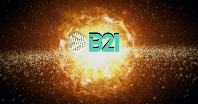 B21 stiger 114% - Kryptokopplade kreditkort redo att rulla