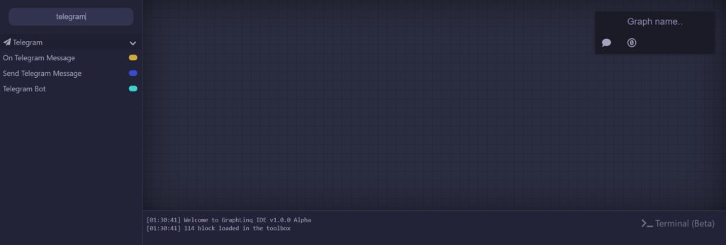 GraphLinq IDE 2