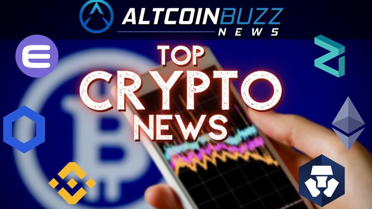 Top Crypto News: 03/30 - Cryptocurrency News - Altcoin Buzz