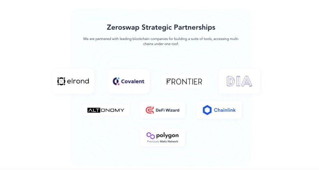 ZeroSwap Partnerships