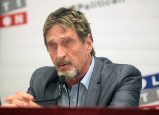 John McAfee and Associate Face Federal Charges